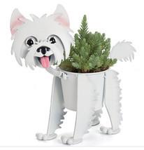 Westie, Metal Mini Dog Planter / Pot, #32557, Georgetown Home & Garden - $33.95