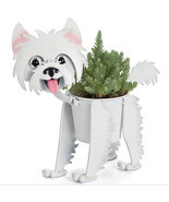 Westie, Metal Mini Dog Planter / Pot, #32557, Georgetown Home & Garden - £25.26 GBP