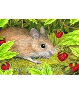 ACEO art print Mouse 15 from original painting ... - $4.99