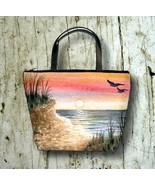 Bag Purse Bucket Sea View 168 Ocean Beach Sunse... - $35.99