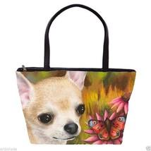 Classic Shoulder Handbag Purse Bag Dog 85 Chihu... - $49.99