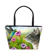 Classic Shoulder Handbag Purse Bag Cat 591 Humm... - $48.99