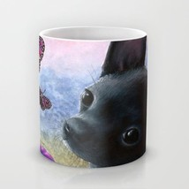 Coffee Mug Cup 11oz or 15oz Made in USA Dog 91 Chihuahua Butterfly art L... - $19.99+