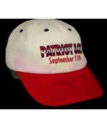 Patriot Day September 11th White Baseball Cap Hat Box Shipped - $9.99