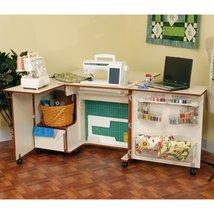 Sewing Cabinet Lift Table Desk Portable Quilt Leaf Folding - €1.353,70 EUR