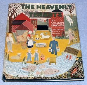 Primary image for  Heavenly Tenants, William Maxwell L Karasz 1946 Vintage Children's Book
