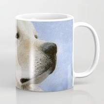 Coffee Mug Cup 11oz or 15oz Made in USA Dog 98 Golden Retriever Blue art... - $19.99+