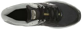 Saucony Men's Black/Grey/Yellow Cohesion 10 Running Runners Shoes Sneaker NIB image 5