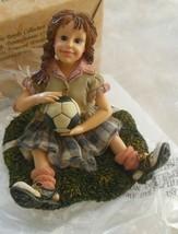 Mia...The Save-Boyds Bears Soccer Dollstone #3549 - $31.49
