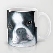 Coffee Mug Cup 11oz or 15oz Made in USA Dog 128 Boston Terrier art L.Dumas - $19.99+