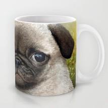 Coffee Mug Cup 11oz or 15oz Made in USA Dog 114 Puppy Pug Flower art L.D... - $17.99+