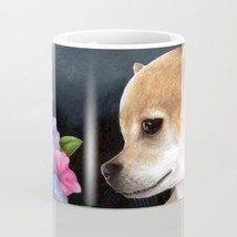 Dog 77 Tan Chihuahua Flower Coffee Mug Cup 11oz or 15oz Made in USA art ... - $19.99+