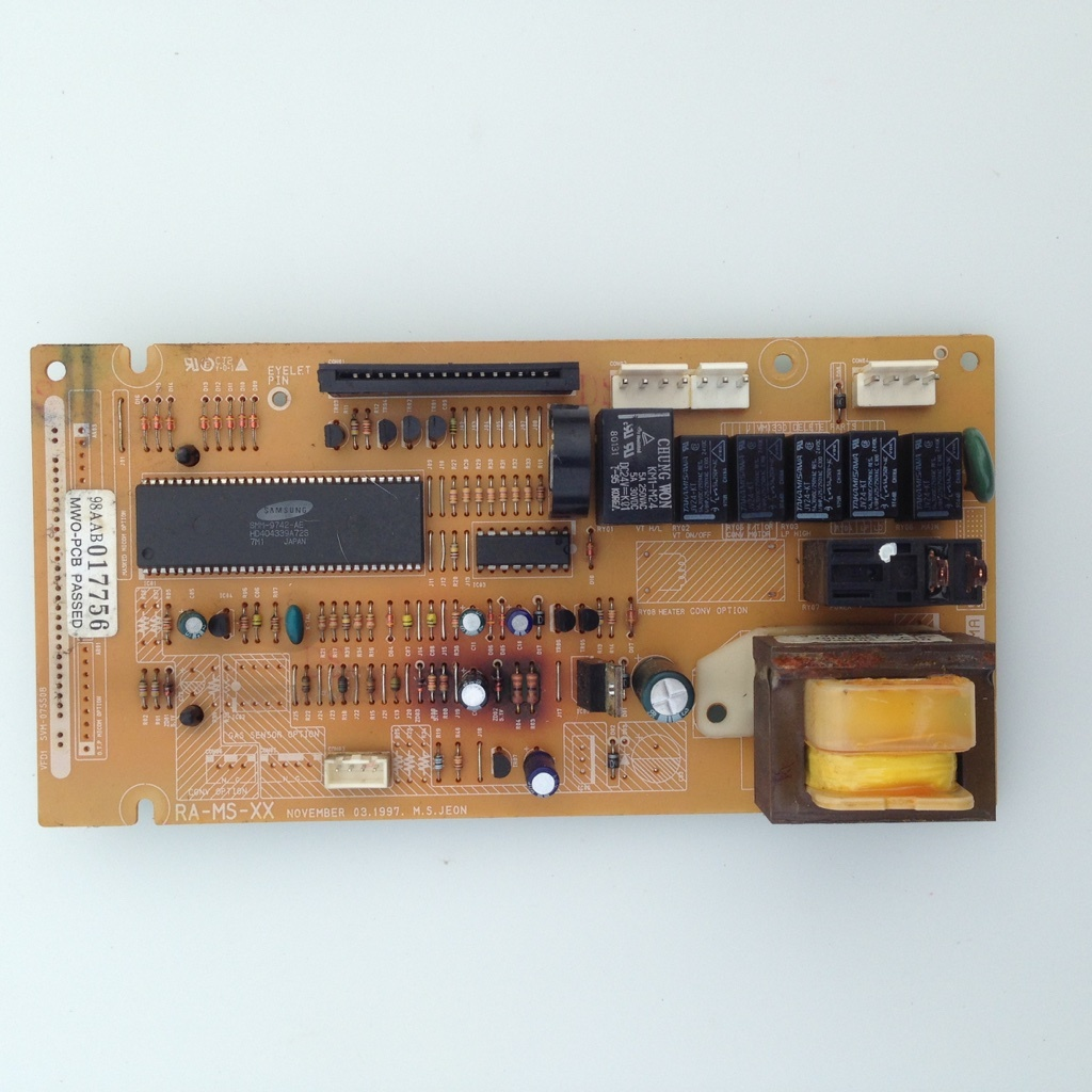 ge microwave oven power control board 98aab017756 wb27x10356 wb27x10110 - General Electric Microwave