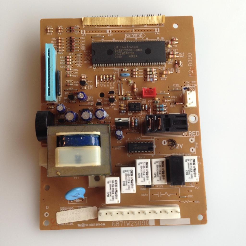 Microwave Oven Circuit