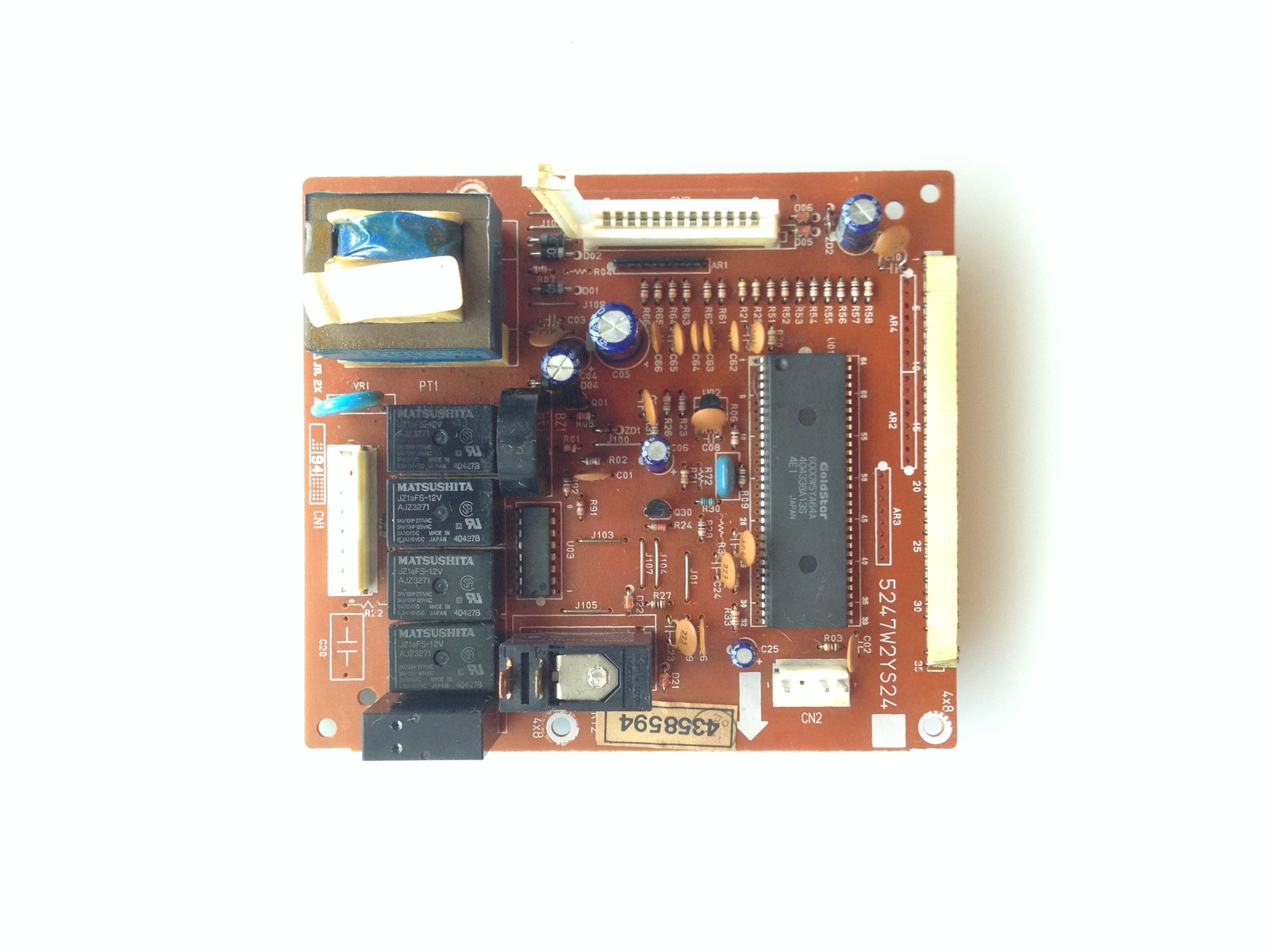 Primary image for 5247W2YS24A Whirlpool Micorwave OEM Power Control Board