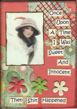 ACEO ATC Art Card Collage Women Ladies Once Upo... - $5.00