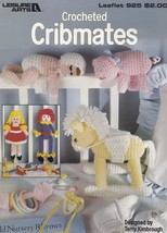 Cribmates, Leisure Arts Crochet Pattern Booklet 925 Dolls Rocking Horse & More! - $5.95