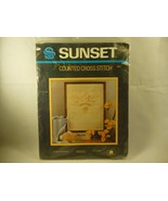 Sunset Counted Cross Stitch Kit Bless This Child 11x14 2981 Linda Gillum... - $14.84