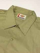 NWT DICKIES Work Shirt Men's 5XL Khaki Short Sleeve BIG NEW WITH TAGS - €27,79 EUR
