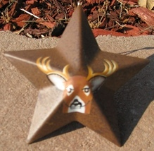 or-228 Deer Metal Christmas Ornament  - $1.95
