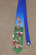 Men's Three Stooges Football Ralph Marlin Neck Tie NWT - $9.99