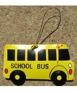 or365 School Bus Metal Christmas Ornament  - $1.95