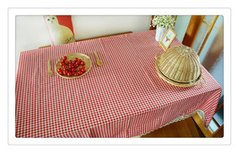 Pastoral style Flax Machine Washable Tablecloth Kitchen Tablecloth For D... - $15.99+