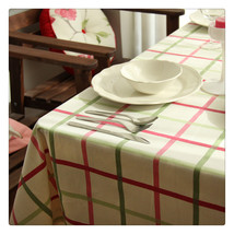 South Korean Country Style Cotton Machine Washable Tablecloth Kitchen Ta... - $14.99+