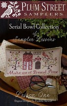 Sampler Lesson One CHART ONLY cross stitch chart Plum Street Samplers  - $9.00