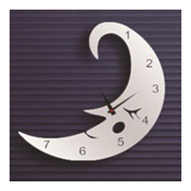 Creative Wall Clock Sticking Mirror - $20.99