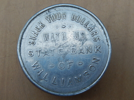 State bank of williamson  ny paperweight circa 1905 to 1944  2  thumb200