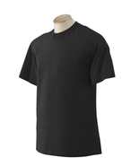Black 2XLT Gildan Tall 200T Ultra Cotton T-shirt 2000T G200T negro noir - $7.00