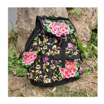 Embroidery Bag Stylish Featured Shoulders Bag 93048 - $35.19