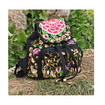 Embroidery Bag Stylish Featured Shoulders Bag Fashionable Woman's Bag - $30.79