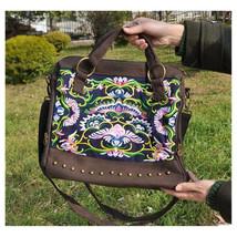 New Embroidery Woman's Single-shoulder Bag Handbag Chinese Style Messenger Bag - $35.19