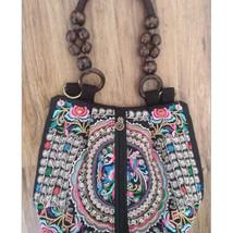 Embroidery Fashionable Woman Bag Embroidery Single-shoulder Bag Messenger Bag - $27.49