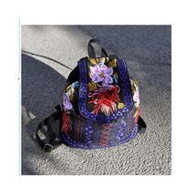 Embroidered Bag Stylish Featured Messenger Bag Shoulders Bag Fshionable Bag - $31.89