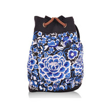 Shoulders Bag Multi-functional Travel Bag Embroidery Schoolbag - $31.89