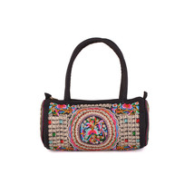 Bag Embroidered Bag Featured Round Pipe Shape Pillow Shape Single-shoulder - $24.19