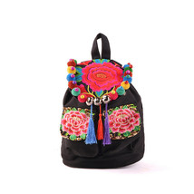 Embroidery Shoulders Bag Woman Bag Embroidery C... - $31.89