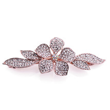 Flower Zircon Hairpin - $10.99