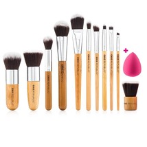 11 Piece Professional Makeup Brush Set Tools Premium Sephora Brushes Fou... - $21.77