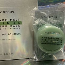 Glow Recipe Avocado Melt Retinol Sleeping Mask BNIB + RETINOL EYE SLEEPING 5mL image 2