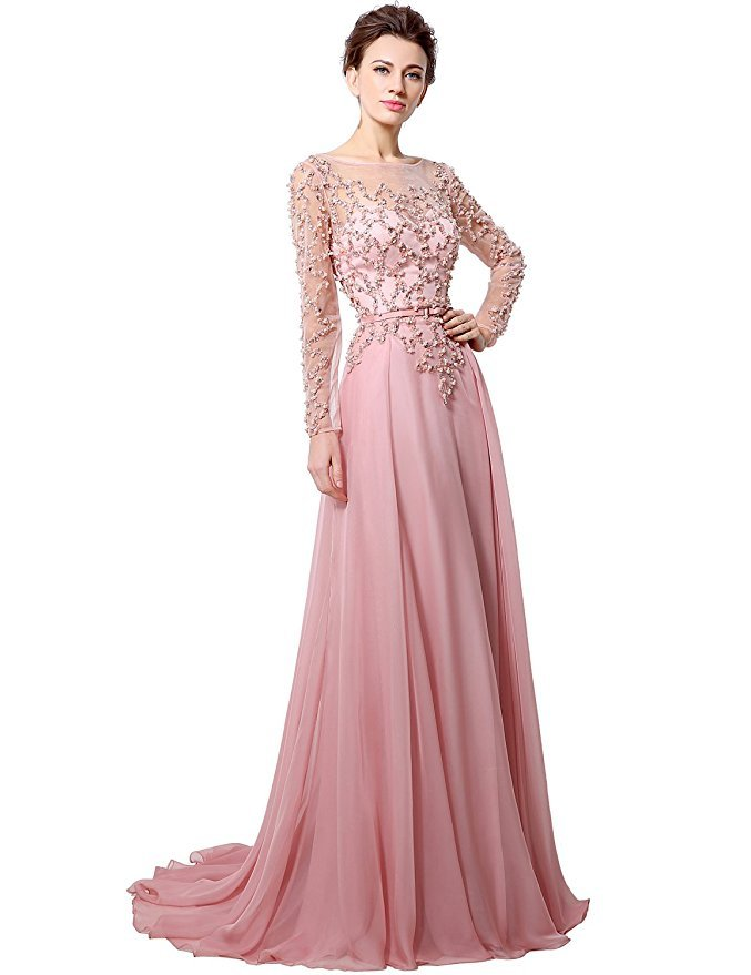 Cheap Blush Pink Prom Dress Long and 35 similar items