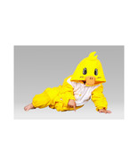 Kids Cute Cartoon Sleepwear Pajamas Cosplay Costume Animal Onesie Suit duck - $19.94
