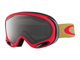 Oakley A Frame 2.0 Snow Goggles OO7044-12 Copper Red, Dark Grey - $69.29