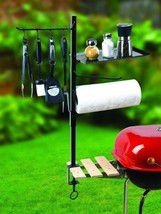 BBQ Grill Tools Organizer Accessory Holder Outdoor Patio Barbecue Cookin... - £35.68 GBP