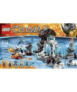 Lego Legends of Chima Mammoth's Frozen Stronghold 70226 w/ 5 minifigures - $59.00