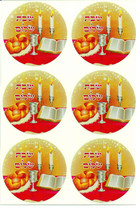 10 Sheets Judaica Shabbat Shalom Stickers Children Teaching Aid Israel Hebrew