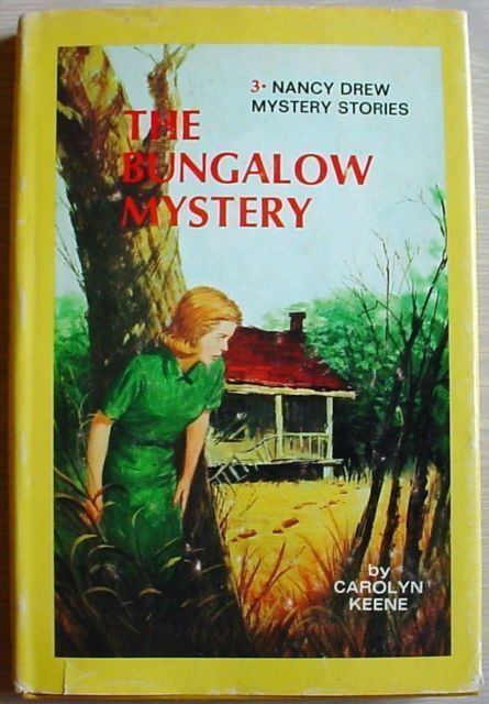 Nancy Drew #3 THE BUNGALOW MYSTERY hc/dj 1976 BCE type 3